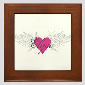 My Sweet Angel Elyse Framed Tile