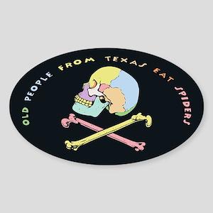 Captain Mnemonic Sticker (Oval)