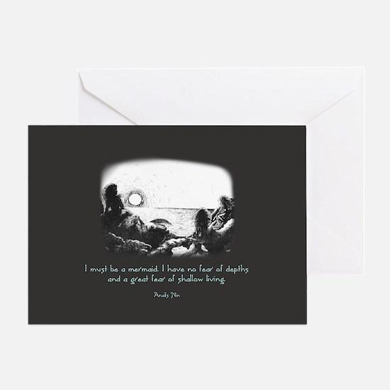 Mermaid Quote Greeting Card