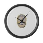 Palm Springs Police Large Wall Clock