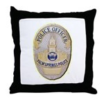Palm Springs Police Throw Pillow