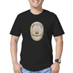 Palm Springs Police Men's Fitted T-Shirt (dark)