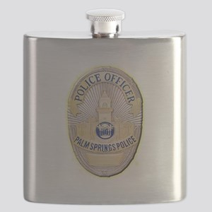 Palm Springs Police Flask