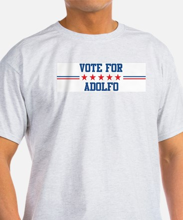 Vote for ADOLFO Ash Grey T-Shirt