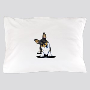 KiniArt Tricolor Corgi Pillow Case