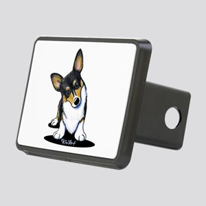 KiniArt Tricolor Corgi Rectangular Hitch Cover