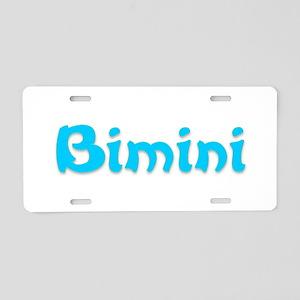 Bimini Aluminum License Plate