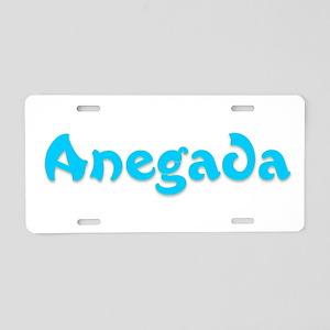 Anegada Aluminum License Plate