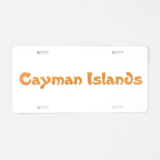 Cayman Islands.png Aluminum License Plate