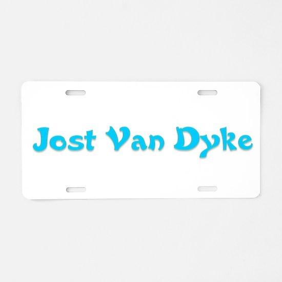 Jost Van Dyke.png Aluminum License Plate
