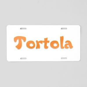Tortola Aluminum License Plate
