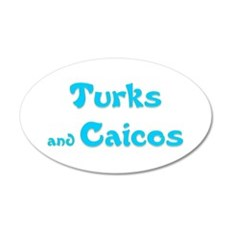Turks and Caicos.png Wall Decal