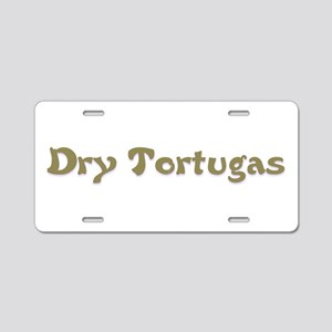 Dry Tortugas Aluminum License Plate