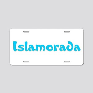 Islamorada Aluminum License Plate