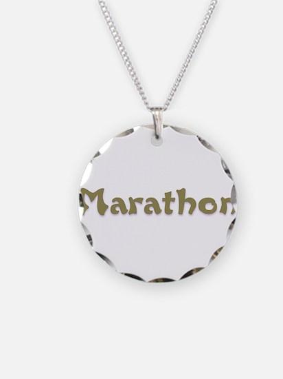 Marathon.png Necklace