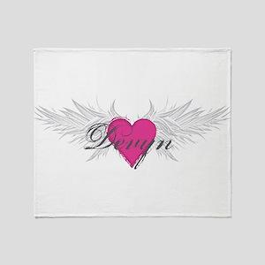 My Sweet Angel Devyn Throw Blanket