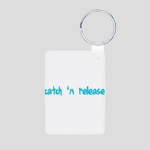 Catch n Release Aluminum Photo Keychain