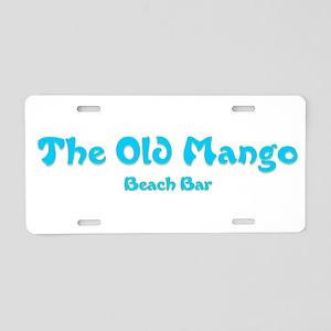 The Old Mango Aluminum License Plate