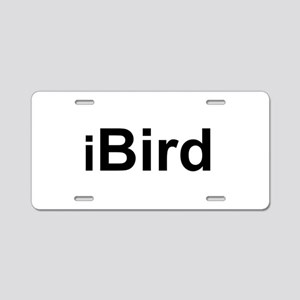iBird Aluminum License Plate