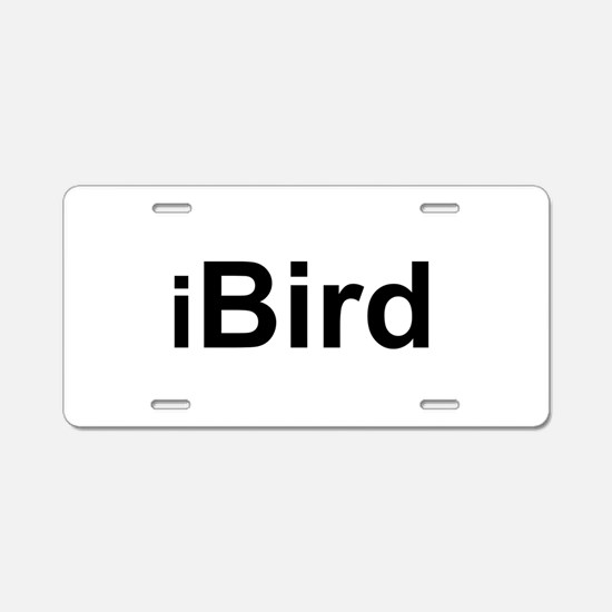 iBird.png Aluminum License Plate