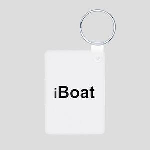 iBoat Aluminum Photo Keychain