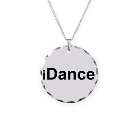 iDance.png Necklace Circle Charm