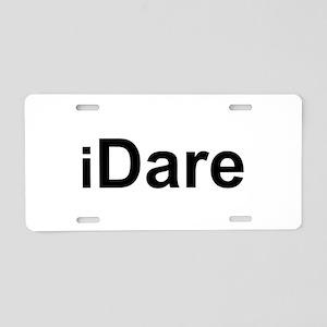 iDare Aluminum License Plate