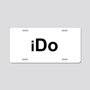 iDo Aluminum License Plate