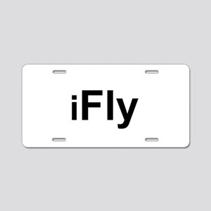 iFly Aluminum License Plate