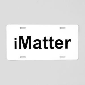 iMatter Aluminum License Plate