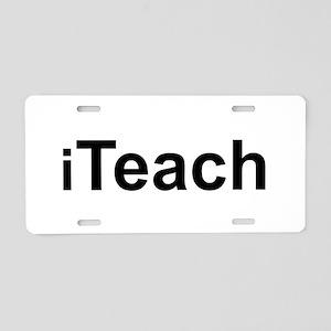 iTeach Aluminum License Plate