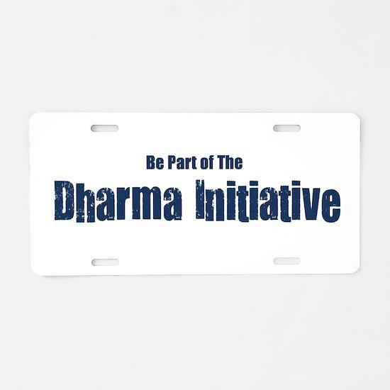 Dharma_2.png Aluminum License Plate
