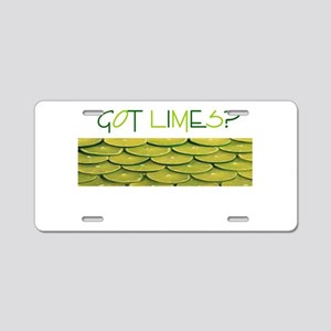 Got Limes Aluminum License Plate
