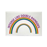 Intense Like Double Rainbows Rectangle Magnet (100