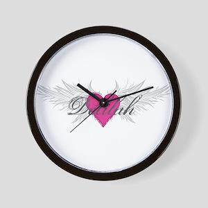 My Sweet Angel Delilah Wall Clock
