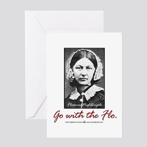 Florence Nightingale Greeting Card