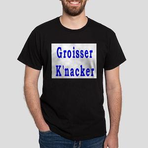 Yiddish Big Shot Dark T-Shirt