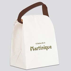 Id Rather Be...Martinique Canvas Lunch Bag