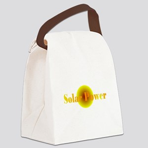 Solar Power Canvas Lunch Bag