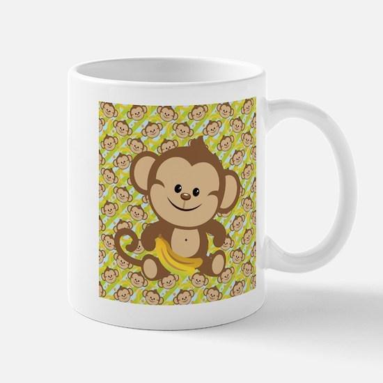 Cute Cartoon Monkey Mug