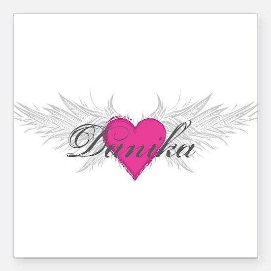 "My Sweet Angel Danika Square Car Magnet 3"" x 3"""