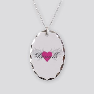 My Sweet Angel Danielle Necklace Oval Charm