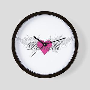 My Sweet Angel Danielle Wall Clock