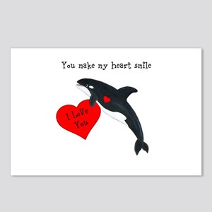 Personalized Whale Postcards (Package of 8)