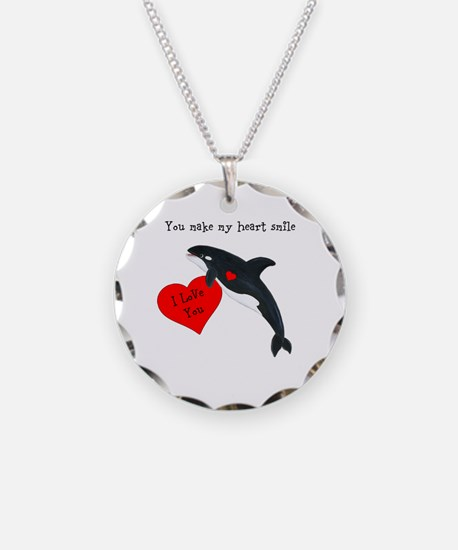Personalized Whale Necklace