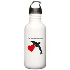 Personalized Whale Stainless Water Bottle 1.0L