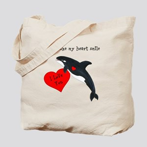 Personalized Whale Tote Bag