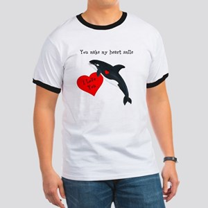 Personalized Whale Ringer T