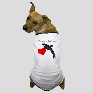 Personalized Whale Dog T-Shirt