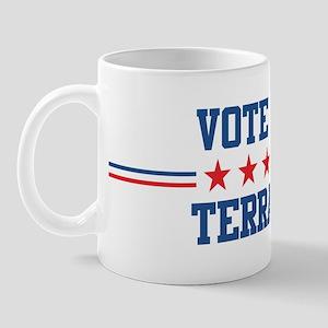 Vote for TERRANCE Mug